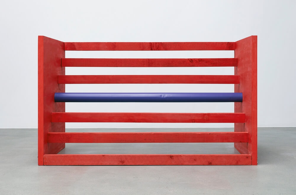 Donald Judd by Anna Sansom