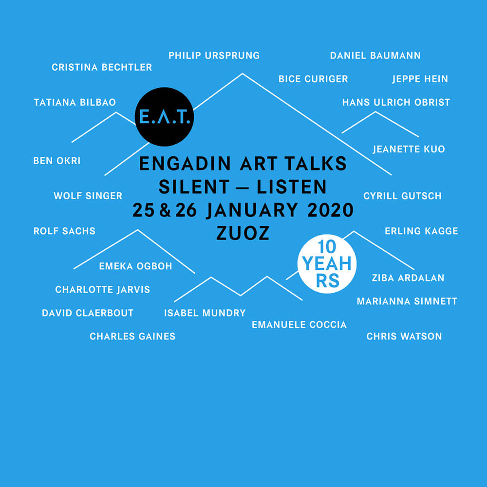 Engadin Art Talks (E.A.T.) by TDE News