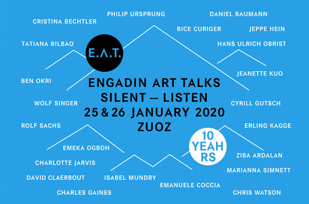 Engadin Art Talks (E.A.T.) by TDE News
