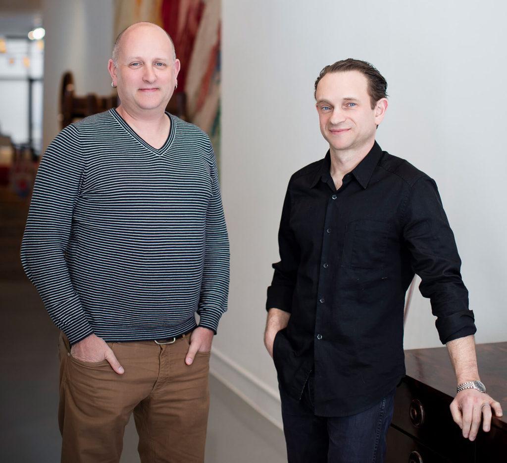 Zesty Meyers and Evan Snyderman by Judith Gura