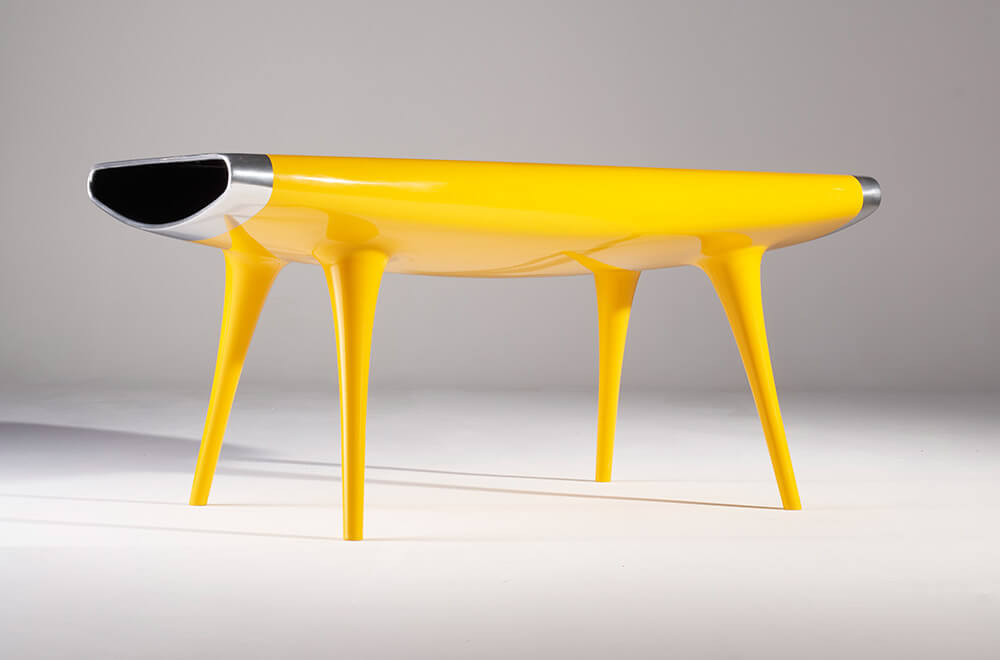 Object of the Week: 'Event Horizon' table, circa 1992 by TDE Editorial Team