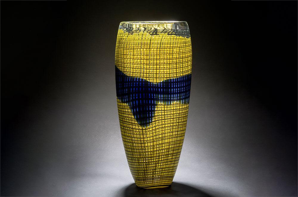 'Tessuto' vase, 1985 by TDE Editorial Team