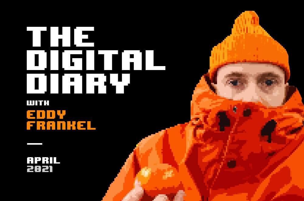 Virtual art and digital commerce by Eddy Frankel