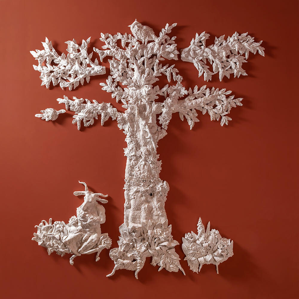 'Tree with a faun', 2021 by TDE Editorial Team