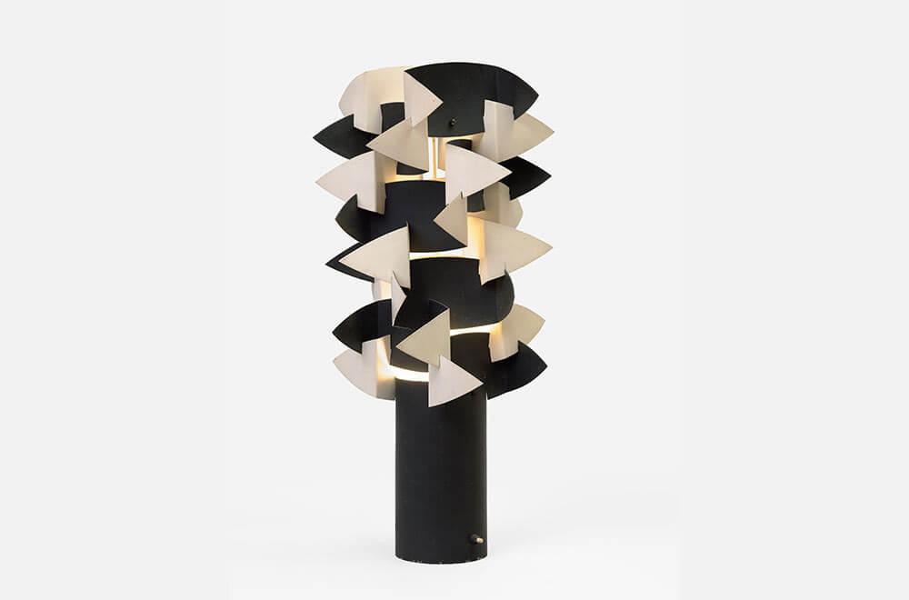 'Cactus' table lamp, circa 1962 by Anna Sansom