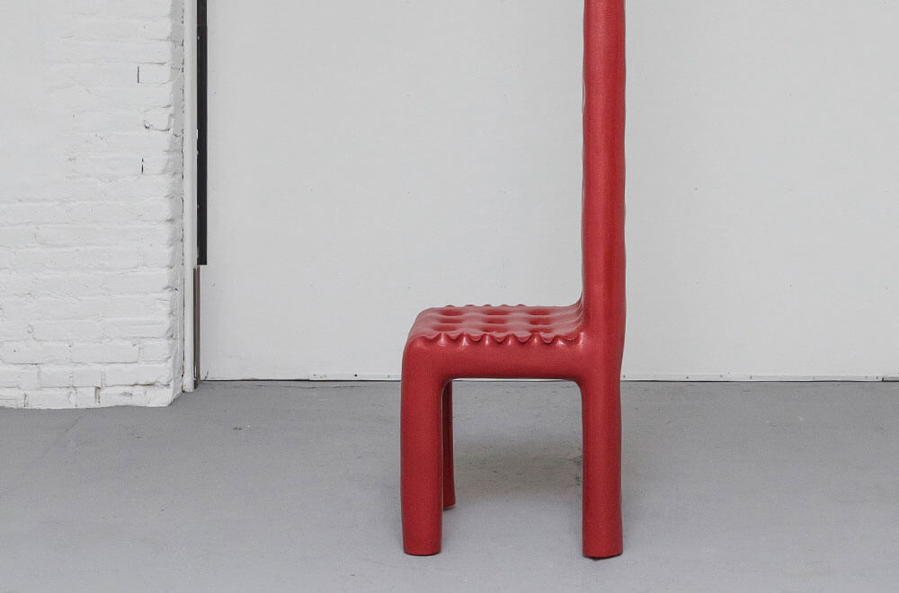 'Tall Pulpit Chair', 2019-2021 by Adrian Madlener