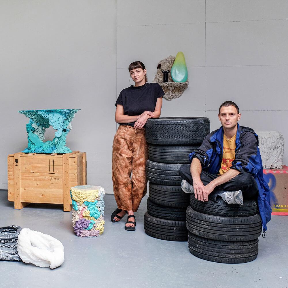 Design Duos / Odd Matter by Anna Sansom